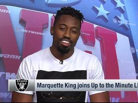 Marquette King on why he likes Beast Mode: 'He looks like a real life Dragon Ball Z character'