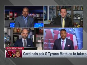 Rapoport: Cardinals asked Tyrann Mathieu to take pay cut because he won't have as big a role in Steve Wilks' defense
