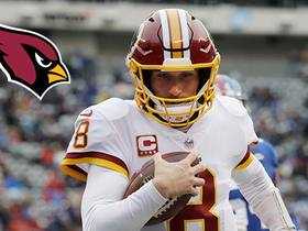 Rapoport: 'The allure of David Johnson' will keep Cardinals in mix for Kirk Cousins