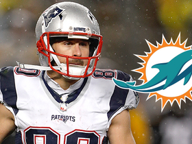 How were the Dolphins able to lure Amendola away from the Pats?