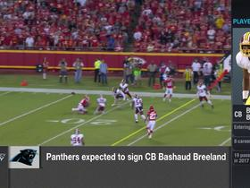 Rapoport: Signing CB Bashaud Breeland would allow Panthers to draft best player available