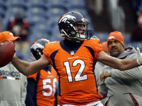 James Palmer: Broncos still hoping for growth with Paxton Lynch