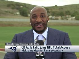 Aqib Talib talks nicknames for Rams' re-vamped secondary