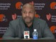 Watch: Hue Jackson: 'Tyrod Taylor is going to be our starting quarterback...there is no competition'