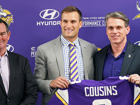 Cousins explains why he chose the Vikes over other potential teams