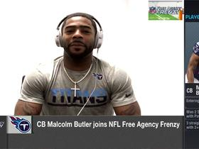 Malcolm Butler explains why he chose to join the Titans