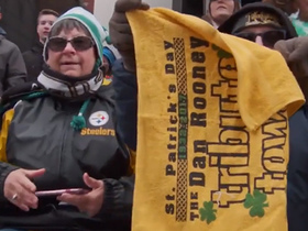 Watch: City of Pittsburgh dedicates St. Patrick's Day parade to Dan Rooney
