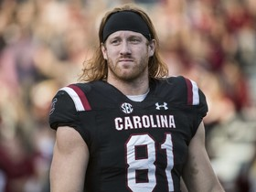 Watch: MTS: TE prospect Hayden Hurst on switch from pro baseball