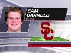 Watch: Nate Burleson breaks down why Sam Darnold should be picked at No. 1