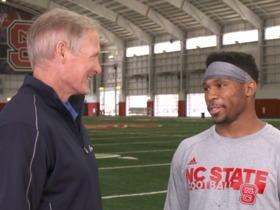 Watch: Nyheim Hines on draft process: It's grueling, but it's a blessing