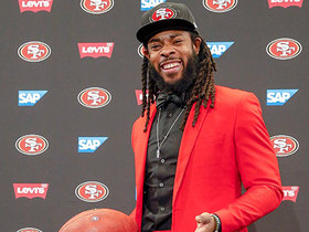 Watch: Sherman explains why he picked the 49ers at introductory presser