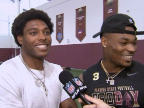 Watch: Jalen Ramsey crashes Derwin James' pro day interview