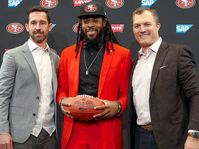 Watch: Richard Sherman's introductory 49ers press conference