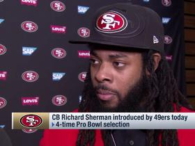 Watch: Richard Sherman explains what it was about Kyle Shanahan, Jimmy G that made him choose the 49ers