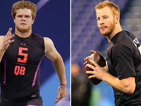 Watch: Where do Darnold, Rosen rank vs. QBs drafted in top 10 since '12?