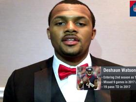 Watch: Deshaun Watson gives updates on his rehab and his status for Week 1