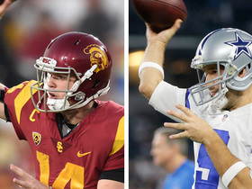 Watch: Daniel Jeremiah's pro comp for Sam Darnold? Tony Romo