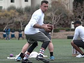 Watch: Johnny Manziel's best throws from USD pro day