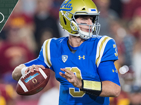 Watch: Jets meeting with UCLA QB Josh Rosen Thursday