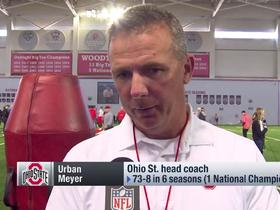Watch: Urban Meyer highlights what sets Denzel Ward apart from other Ohio State DBs over the years