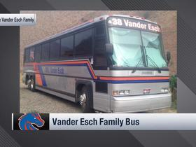 Watch: Leighton Vander Esch explains why his family has its own decked-out bus