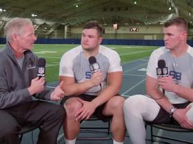 Watch: Quenton Nelson, Mike McGlinchey explain what they wanted to show scouts at their pro day