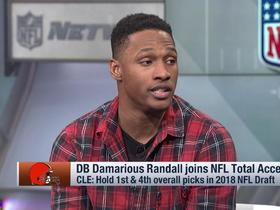 Watch: Damarious Randall's favorite college QB? 'Unstoppable' Lamar Jackson