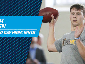 Watch: Josh Allen highlights | Wyoming pro day 2018