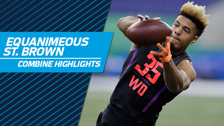 Equanimeous St. Brown' Full 2018 NFL Scouting Combine Workout