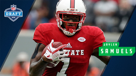 563c25531 2018 NFL Draft profile  Breaking down North Carolina State tight end Jaylen  Samuels  college highlights - NFL Videos