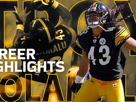 Watch: Troy Polamalu career highlights | NFL Legends