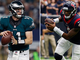 Watch: Who will have a bigger return from injury: Carson Wentz or Deshaun Watson?