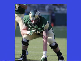 Watch: Kyle Brandt tells story of Colorado St. OL and Aurora Shooting survivor Zack Golditch