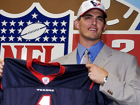 Watch: This Day in Draft History: The Texans' first pick in franchise history select QB David Carr number 1 overall