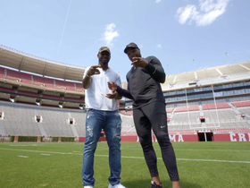 Watch: Back2Campus: Derrick Henry and Rashaan Evans