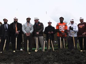 Watch: Jarvis Landry attends first community event as a Cleveland Brown