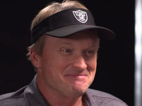 Watch: Jon Gruden on Raiders' draft approach: 'We're going to raise hell' to get things going