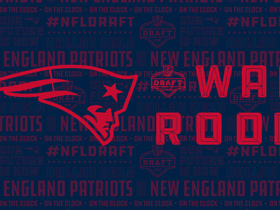 Watch: Patriots' war room: Projecting New England's first four selections in 2018 NFL Draft