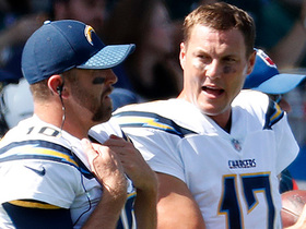 Watch: Philip Rivers on possibility of Chargers drafting a QB: 'I know it's a matter of time'