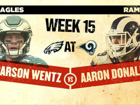 Watch: Kyle Brandt: Carson Wentz injury sets stage for Eagles-Rams rematch