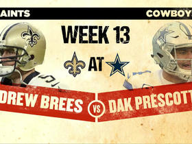 Watch: Nate Burleson: Saints-Cowboys to change complexion of NFC playoff picture