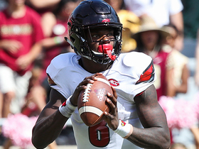 Watch: Mike Mayock projects Lamar Jackson will go in the first round of 2018 NFL Draft