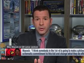 Watch: Rapoport: The 'interesting' team connected to Lamar Jackson is the Ravens