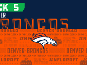 Watch: Broncos pick No. 5 | NFL Mock Draft Live