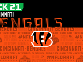 Watch: Bengals pick No. 21 | NFL Mock Draft Live