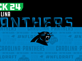 Watch: Panthers pick No. 24 | NFL Mock Draft Live