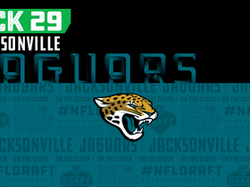 Watch: Jaguars pick No. 29 | NFL Mock Draft Live