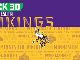 Watch: Vikings pick No. 30 | NFL Mock Draft Live