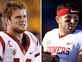 Watch: What Sam Darnold thinks of Baker Mayfield