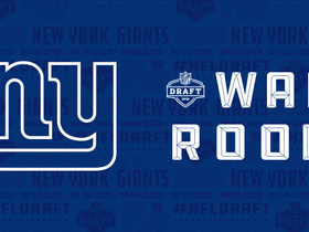 Watch: Giants' war room: Projecting New York's first three selections in 2018 NFL Draft